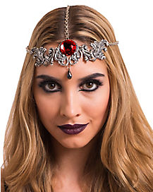 Vampire Red Stone Headpiece