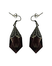 Vampire Tear Drop Earrings