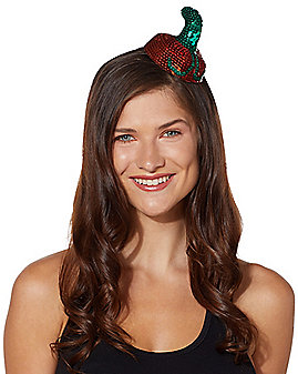 Sequin Pumpkin Fascinator