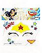 Wonder Woman Face Tattoo - DC Super Hero Girls