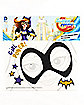 Batgirl Face Tattoo - DC Super Hero Girls