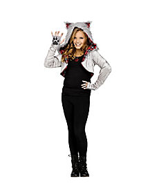 Kids Animal Wolf Shrug