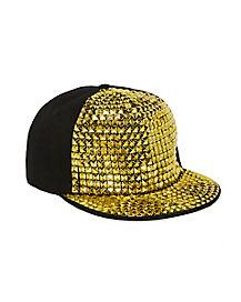 Gold Studded Pimp Snapback