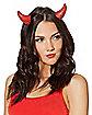 Rhinestone Devil Horns