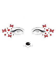 Kids Minnie Mouse Face Decal - Disney