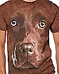 Chocolate Lab Face T Shirt