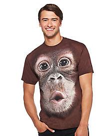 Monkey Face T Shirt