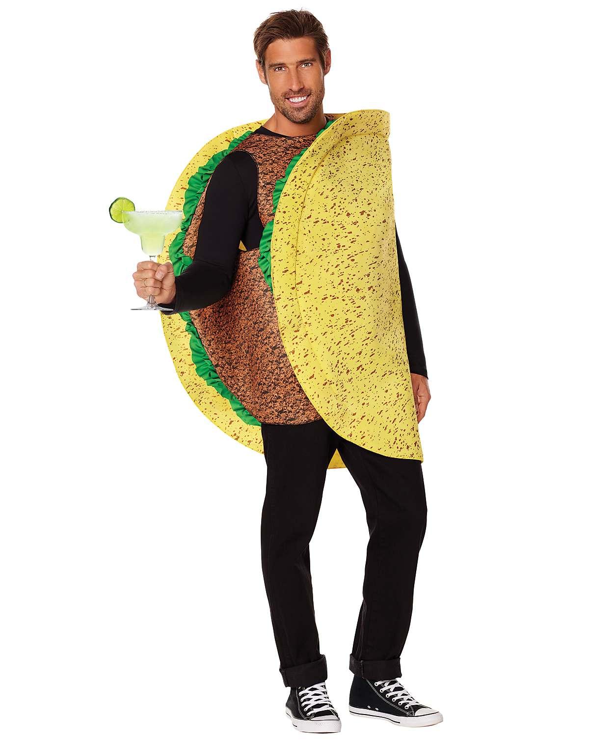 Adult beef taco costume