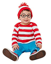 Baby Waldo Coverall - Where's Waldo