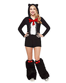 Adult Cat In The Hat Romper - Dr. Seuss
