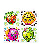 4pk Tattoos - Shopkins