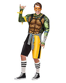 Adult TMNT Michelangelo Costume – Out Of The Shadows