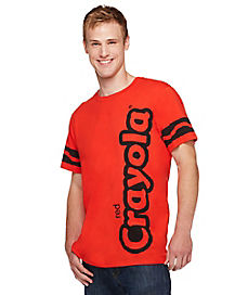 Adult Red Crayon T Shirt - Crayola