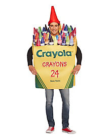 Adult Crayon Box Costume - Crayola