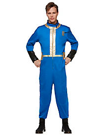 Adult Vault Boy Costume - Fallout