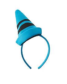 Cerulean Blue Crayon Headband - Crayola