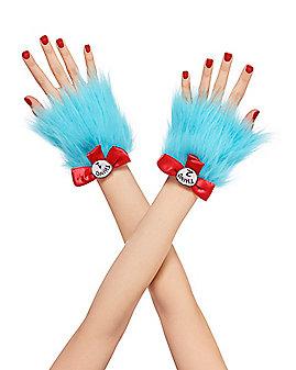 Thing Faux Fur Cuffs - Dr. Seuss
