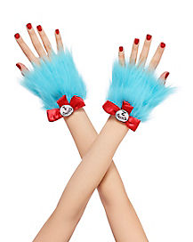 Thing Faux Fur Cuffs - Dr. Seuss