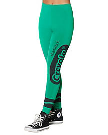 Shamrock Green Leggings - Crayola