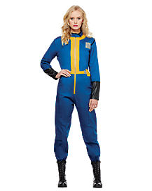 Adult Vault Suit Costume - Fallout