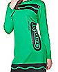 Tween Shamrock Green Crayon Costume - Crayola