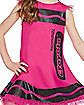 Kids Razzmatazz Pink Crayon Dress Costume - Crayola