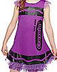 Kids Vivid Violet Crayon Dress Costume - Crayola