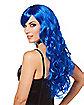 Cerulean Blue Crayon Wig - Crayola
