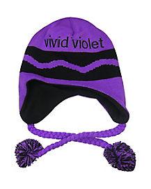 Vivid Violet Crayon Laplander Hat - Crayola