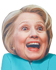 Giant Hillary Clinton Head Mask