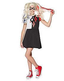 Kids Harley Quinn Dress - DC Girls