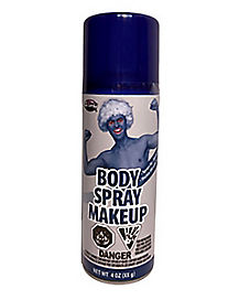 Blue Body Spray Paint