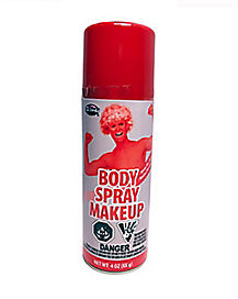 Red Body Spray Paint