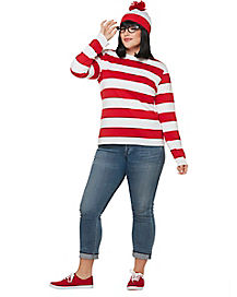 Adult Wenda Plus Size Kit - Where's Waldo