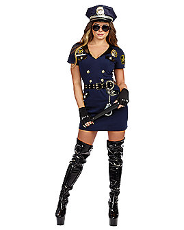 Adult Officer Pat U Down Cop Costume