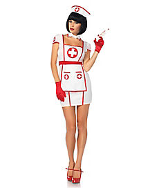 Adult Hospital Heart Breaker Nurse Costume