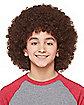 Kids Brown Afro Wig