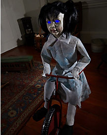 2.5 Ft Tricycle Doll Animatronics – Decorations