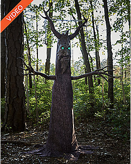 6.5 Ft Deadly Roots Animatronics - Decorations