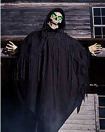 5 ft hanging hell fiend animatronics decorations - Spirit Halloween Animatronics
