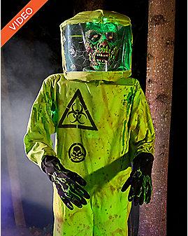 5 Ft Hazmat Zombie – Decorations