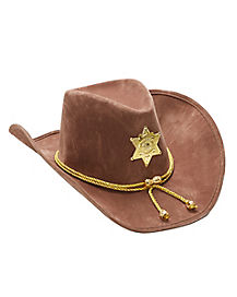 Brown Sherrif Hat