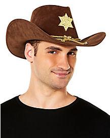Brown Sherrif Hat
