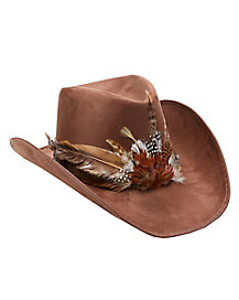 Brown Frontier Hat