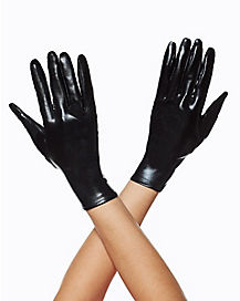Black Pointed Gloves