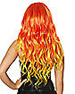 Yellow and Orange Flame Wig