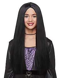 Kids Black Witch Wig