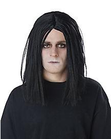 Black Menacing Wig