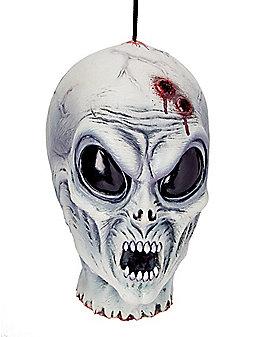 Hanging Alien Head - Decorations