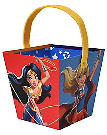 Girl Power Treat Bucket - DC Comics